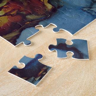 Split Rock Lighthouse At Night Jigsaw Puzzle