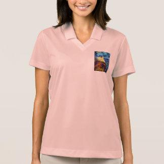 Split Rock Lighthouse At Night Polo Shirts