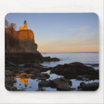 Split Rock Lighthouse at sunset near Two Mouse Pads