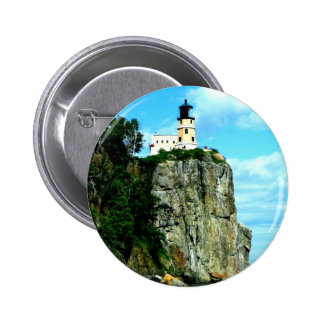 Split Rock Lighthouse 2 Inch Round Button