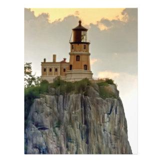 Split Rock Lighthouse Close-up Custom Flyer