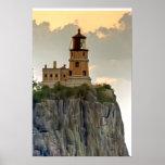 Split Rock Lighthouse Close-up Poster