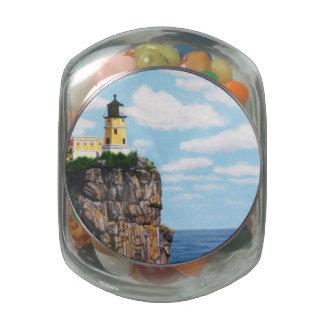 Split Rock Lighthouse Glass Jars