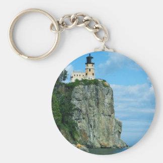 Split Rock Lighthouse Key Chain