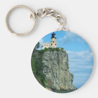 Split Rock Lighthouse Keychain