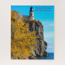 Split Rock Lighthouse Lake Superior. Jigsaw Puzzle