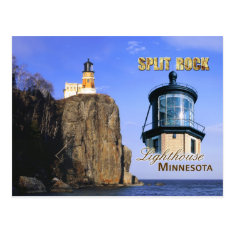 Split Rock Lighthouse, Minnesota Postcard at Zazzle