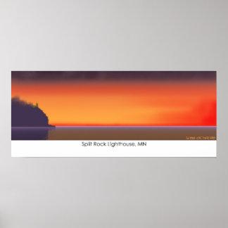 Split Rock Lighthouse, MN Posters