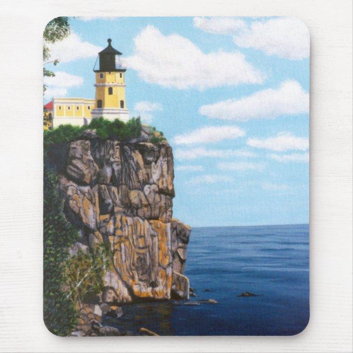 Split Rock Lighthouse Mouse Pad