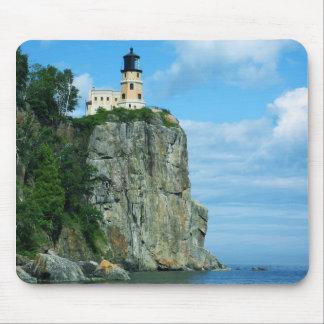Split Rock Lighthouse Mouse Pads