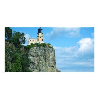 Split Rock Lighthouse Photo Card Template