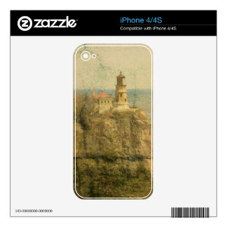 Split Rock Lighthouse Skins For The iPhone 4S