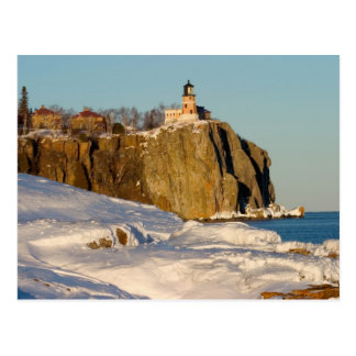 Split Rock Lighthouse State Park on Lake Postcard