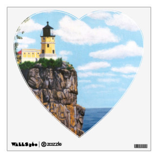 Split Rock Lighthouse Wall Sticker