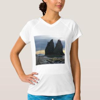 Split rock on Rialto Beach Olympic National Park T-Shirt