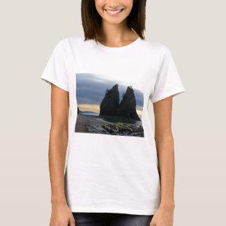 Split rock sunset Olympic National Park T-Shirt