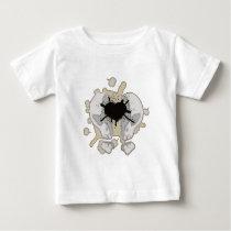 Split skull baby T-Shirt