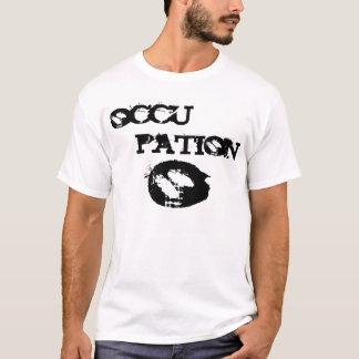 split title occupation t-shirt