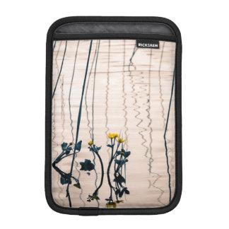 Split-toned kingcup flowers iPad mini sleeve
