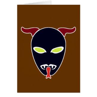 Split Tongue Demon Card