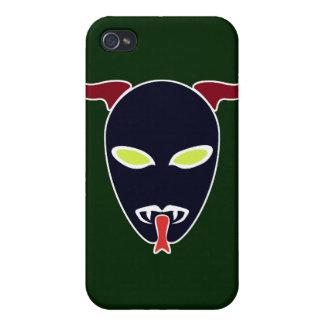 Split Tongue Demon iPhone 4/4S Cases