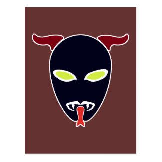 Split Tongue Demon Postcard