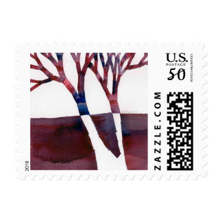 Split Tree Soup Postage Stamp