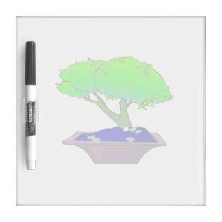 Split trunk bonsai in pot tree graphic.png Dry-Erase boards