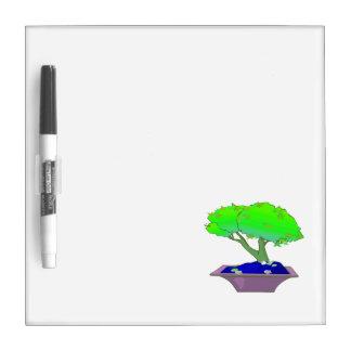 Split trunk bonsai in pot tree graphic.png dry erase whiteboard