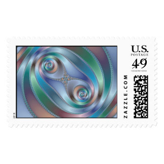 Split tunnel postage