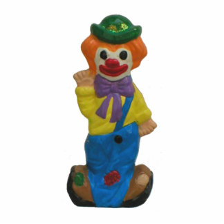 Splits the Clown Happy Photo Sculptures