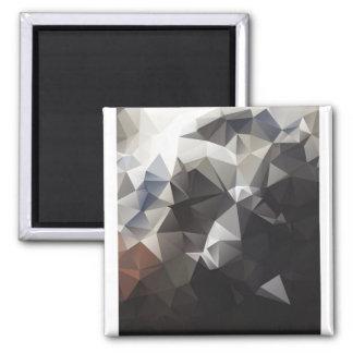 Splitshire of crystals decay Design art Magnet