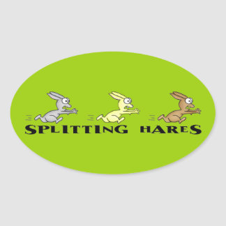 Splitting Hares Stickers