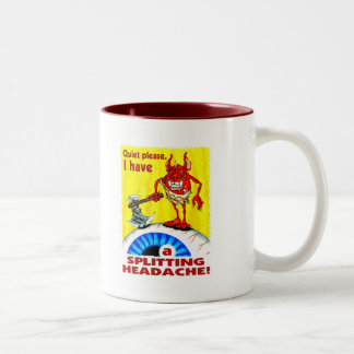 Splitting Headache Coffee Mugs