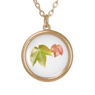 Splitting Season Gold Plated Necklace
