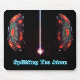 Splitting The Atom Mouse Pad