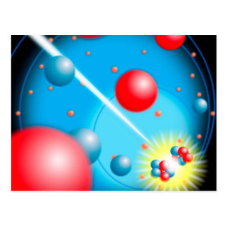 Splitting the Atom Postcard