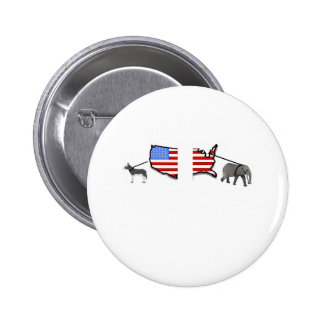 SPLITTING THE COUNTRY no caption.pdf 2 Inch Round Button