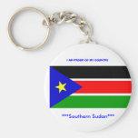 splm del sd}, *** meridional de Sudán del ***, SOY Llavero Personalizado