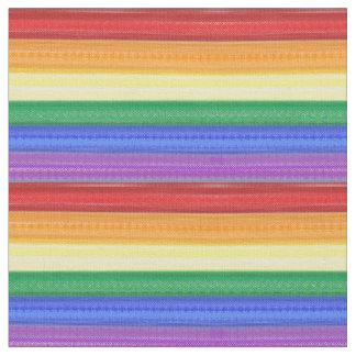 Splotchy Rainbow Fabric