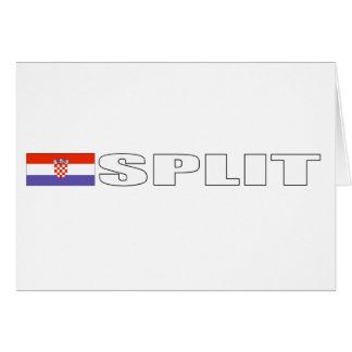 Splt, Croatia Card