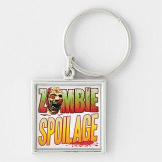 Spoilage Zombie Head Keychains