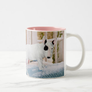 Spoiled? Bull Terrier Puppy . . . Not Two-Tone Coffee Mug
