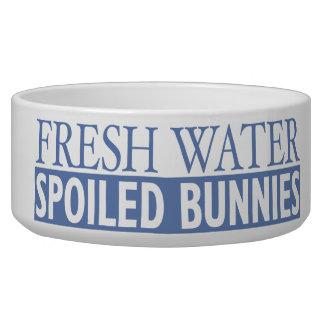 Spoiled Bunnies Pet Bowl