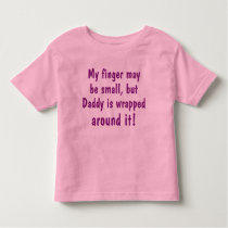 Spoiled By Daddy Toddler T-shirt