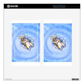 Spoiled Corgi Decals For Kindle Fire