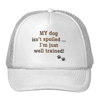 Spoiled Dog Trucker Hats