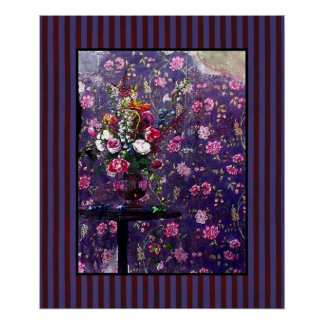 Spoiled Flowers ~ 20x24 Poster Matted Design