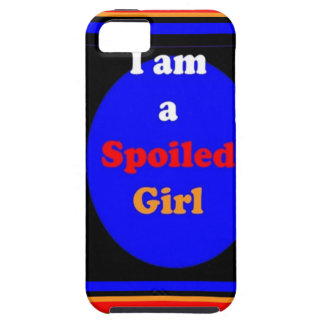 SPOILED GIRL : Naughty Witty Comic Dramatic iPhone 5 Cover