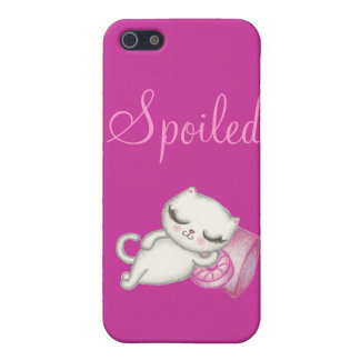 Spoiled Kitty iPhone Case